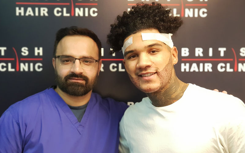 Afro & Curly Hair Transplant - FUE Hair Transplant - British Hair Clinic